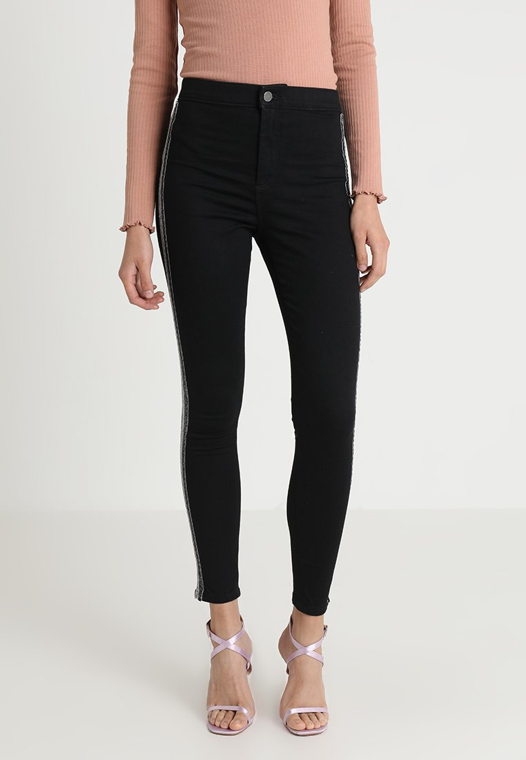 Topshop - TINSEL - Jeans Skinny Fit - black