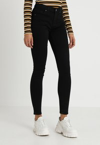 Topshop - LEIGH - Jeans Skinny Fit - black - 0