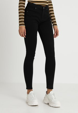LEIGH - Jeansy Skinny Fit - black