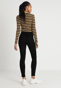 Topshop - LEIGH - Jeans Skinny Fit - black - 2
