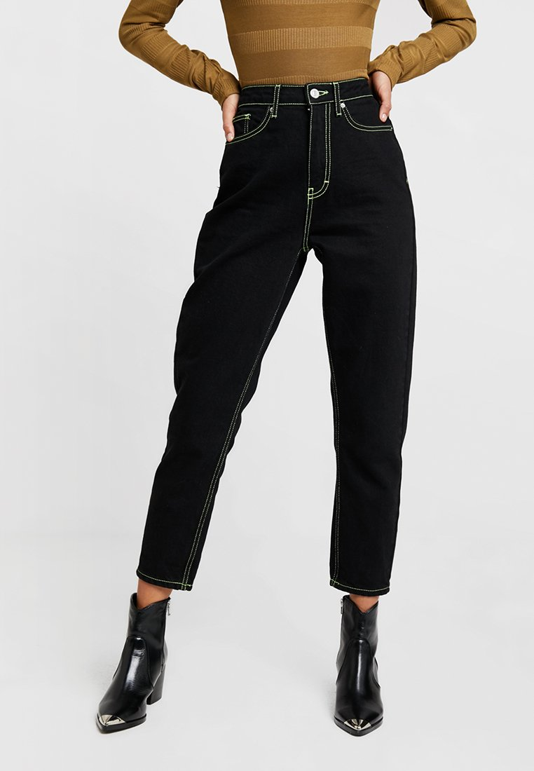 Topshop - MOM - Relaxed fit jeans - black
