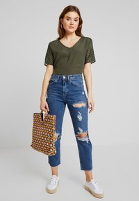 Topshop - Relaxed fit jeans - blue denim - 1