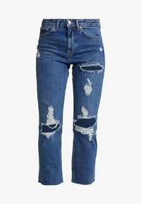 Topshop - Relaxed fit jeans - blue denim - 4