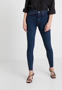 Topshop - JAMIE NEW - Jeans Skinny Fit - vintage indigo - 0