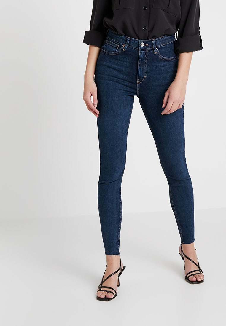 Topshop - JAMIE NEW - Jeans Skinny Fit - vintage indigo