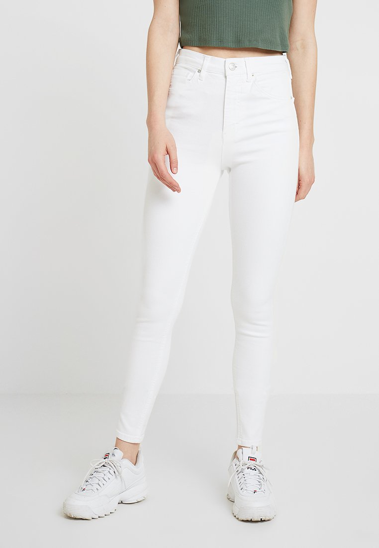 Topshop - JAMIE NEW - Jeans Skinny Fit - white