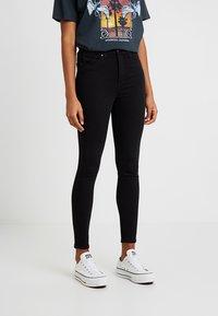 Topshop - JAMIE NEW - Skinny džíny - black - 0