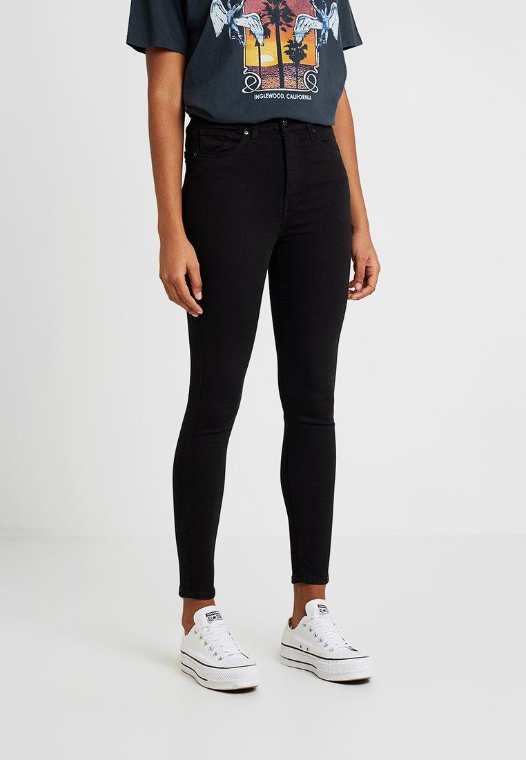 Topshop - JAMIE NEW - Skinny džíny - black