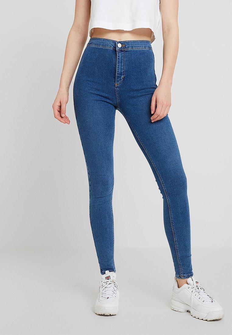 Topshop - JONI NEW - Skinny džíny - blue denim