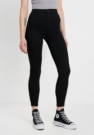 JONI NEW - Jeansy Skinny Fit - black
