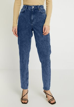 MOM NEW - Jeans baggy - indigo acid