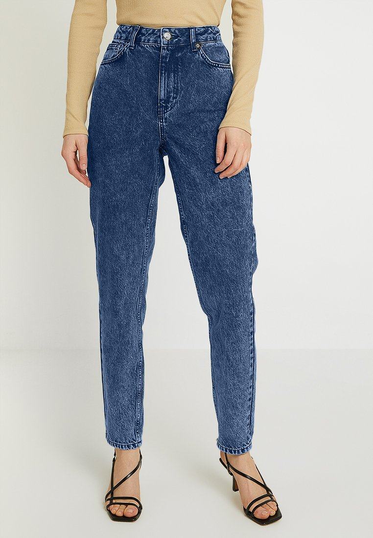 Topshop - MOM NEW - Jeans Relaxed Fit - indigo acid