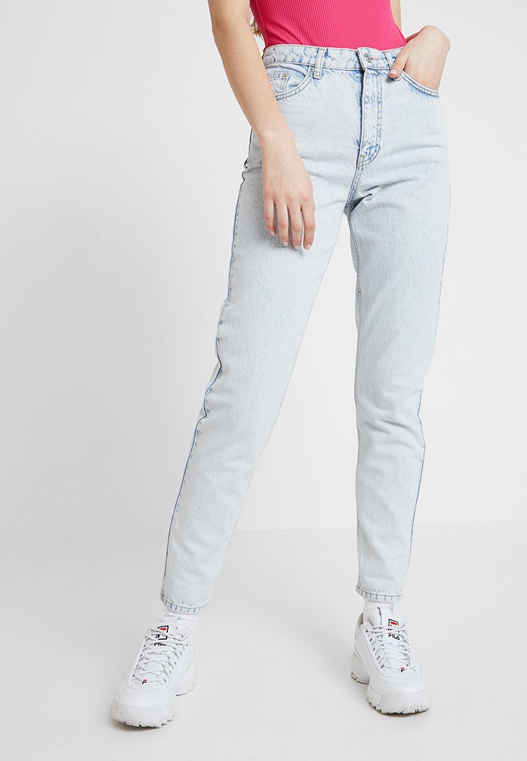 Topshop - MOM NEW - Jeans Relaxed Fit - super bleach