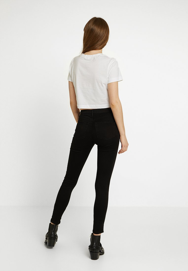 Leigh Topshop Topshop Leigh Skinny NewJeans Black HDWE92I