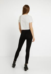 Topshop - LEIGH NEW - Jeans Skinny - black - 2