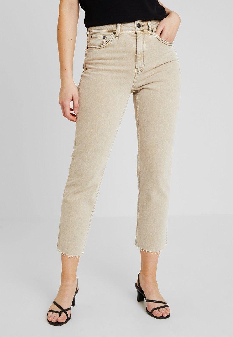 Topshop - Jeans Straight Leg - sand