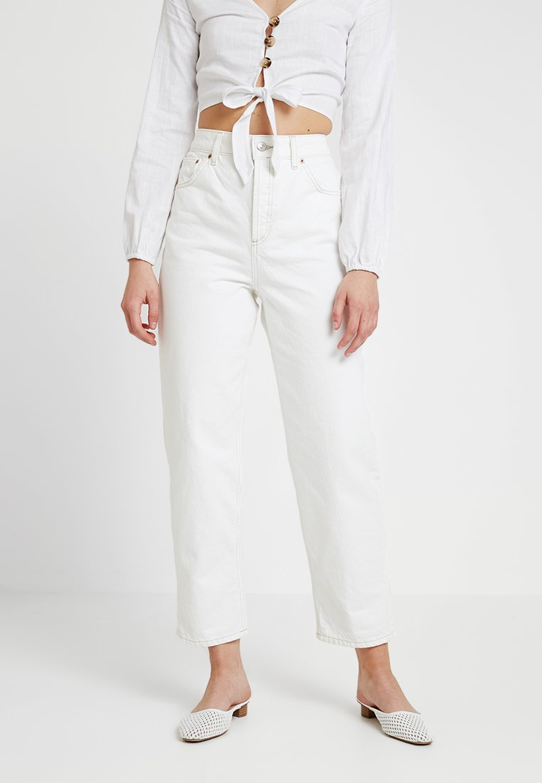 Topshop - BALLOON - Relaxed fit jeans - off-white