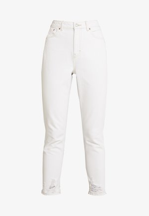 RIPHEM MOM - Relaxed fit jeans - white