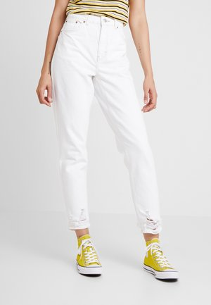 RIPHEM MOM - Jeans Relaxed Fit - white
