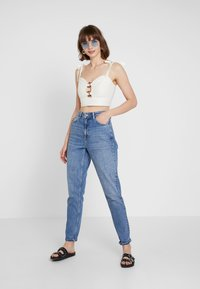 Topshop - MOM - Jeans baggy - blue denim - 1