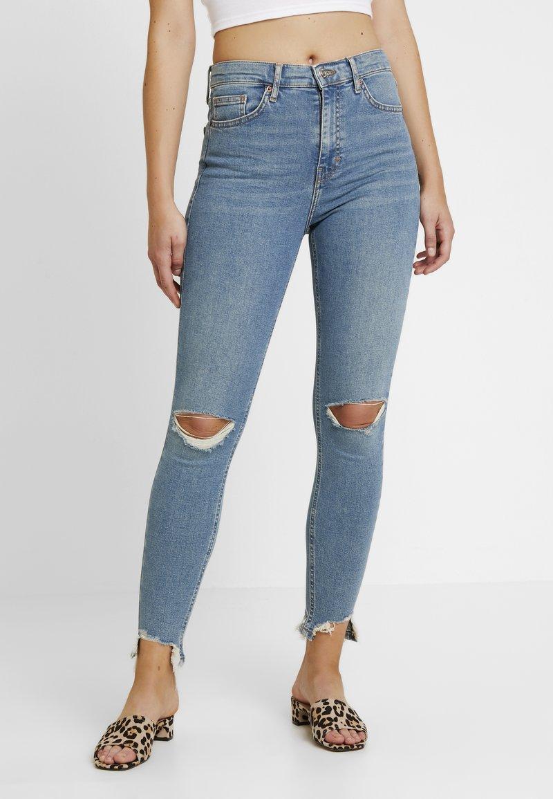 Topshop - Jeans Skinny Fit - blue denim