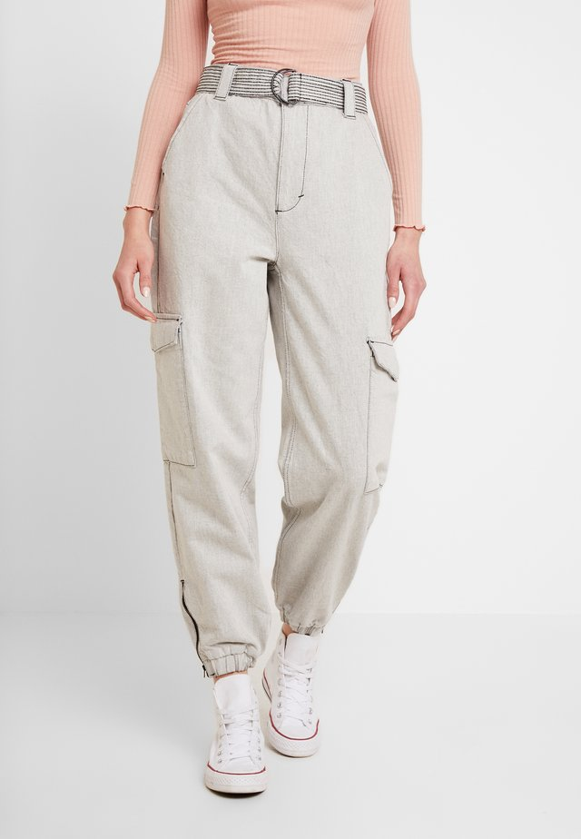 JUDO - Jeans baggy - grey