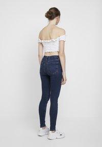 Topshop - JAMIE - Jeansy Skinny Fit - indigo - 2