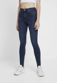 Topshop - JAMIE - Jeansy Skinny Fit - indigo - 0