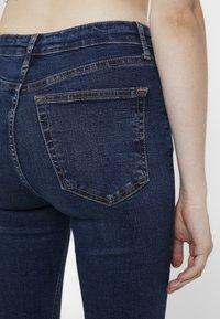 Topshop - JAMIE - Jeansy Skinny Fit - indigo - 5