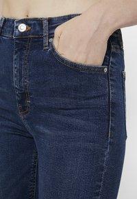 Topshop - JAMIE - Jeansy Skinny Fit - indigo - 3