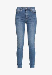 Topshop - JAMIE - Jeansy Skinny Fit - blue denim - 3