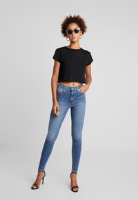 Topshop - JAMIE - Jeans Skinny Fit - blue denim - 1