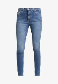 Topshop - JAMIE - Jeans Skinny Fit - blue denim - 3