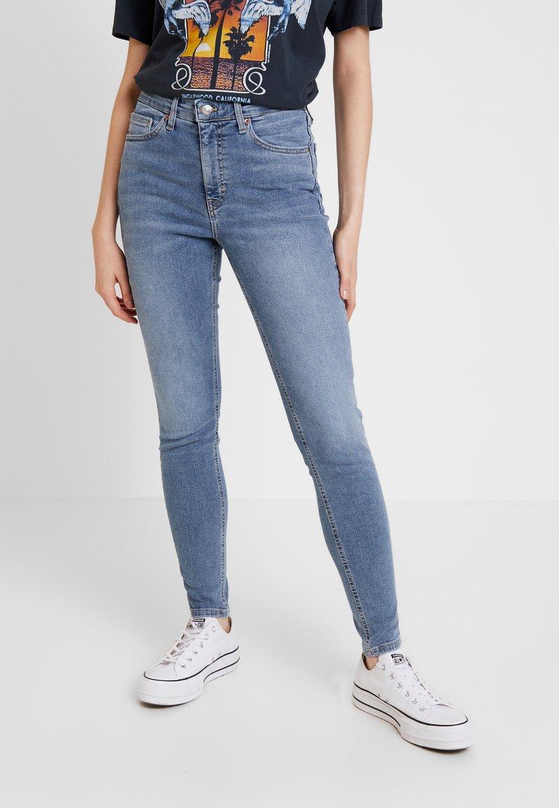 Topshop - JAMIE - Skinny džíny - bleach