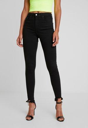 JAGGED JAMIE - Jeans Skinny Fit - black