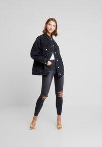Topshop - AUSTIN JAMIE - Jeans Skinny Fit - black - 1
