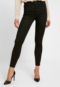 Topshop - JAMIE - Jeans Skinny Fit - black - 0
