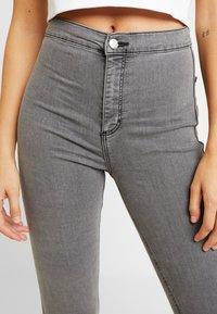 Topshop - JONI - Jeans Skinny Fit - grey - 4