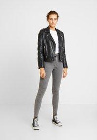Topshop - JONI - Jeans Skinny Fit - grey - 1