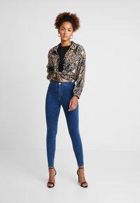 Topshop - JONI - Jeansy Skinny Fit - blue - 1