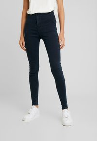 Topshop - JONI - Jeansy Skinny Fit - blue/black - 0
