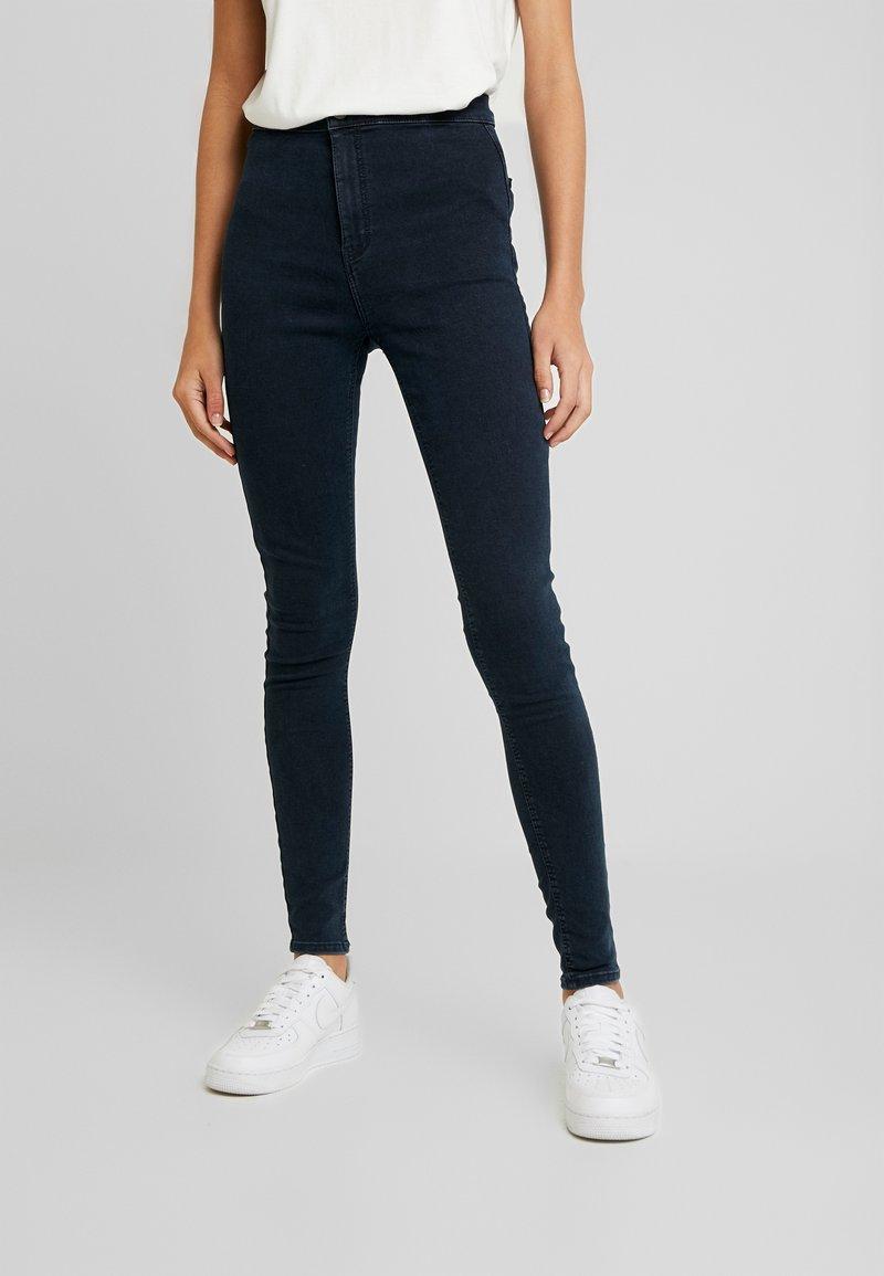 Topshop - JONI - Jeansy Skinny Fit - blue/black