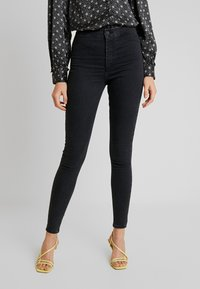 Topshop - JONI - Jeans Skinny Fit - black denim - 0