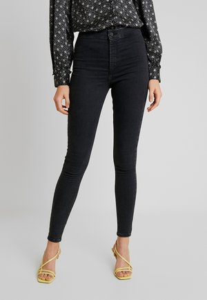 JONI - Jeansy Skinny Fit - black denim