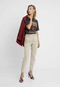 Topshop - MOM - Jeans baggy - sand - 1
