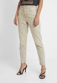 Topshop - MOM - Jeans baggy - sand - 0