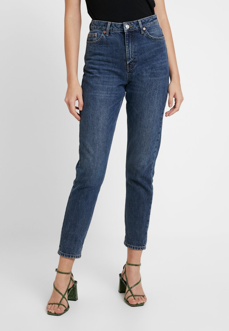 Topshop - MOM - Jeansy Relaxed Fit - rich