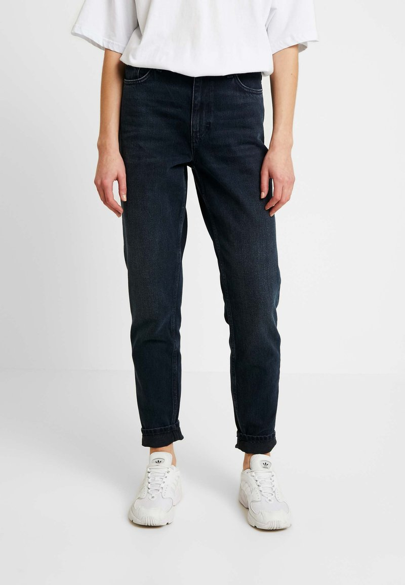 Topshop - MOM - Relaxed fit jeans - blue black