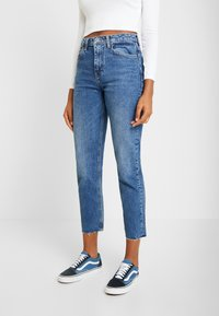 Topshop - Straight leg jeans - blue denim - 0
