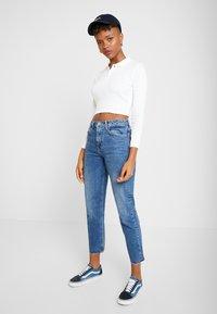 Topshop - Straight leg jeans - blue denim - 1